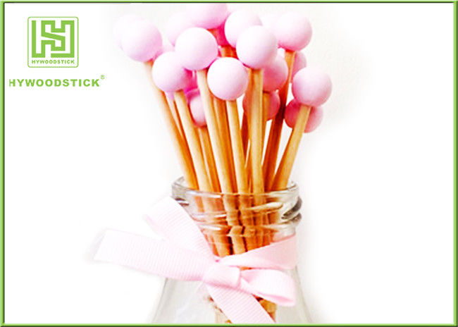 Birthday Cake Topper Cotton Candy Sticks , Short Rock Candy Stir Sticks OEM