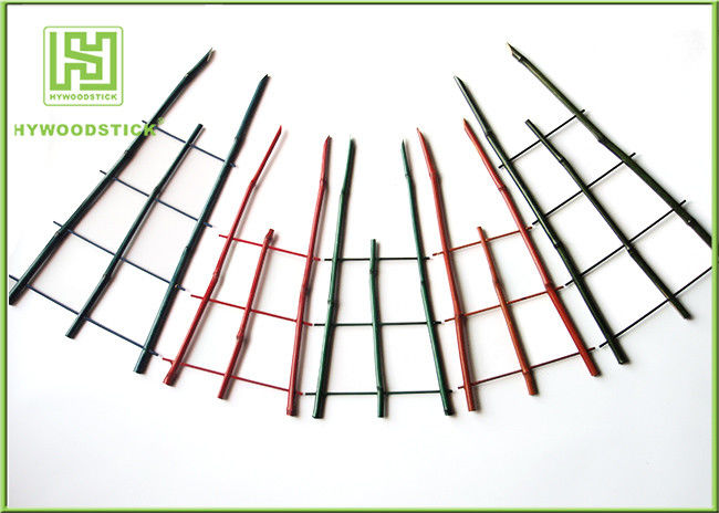 Natural Green Thick Bamboo Flower Sticks For Orchard Various Diameter